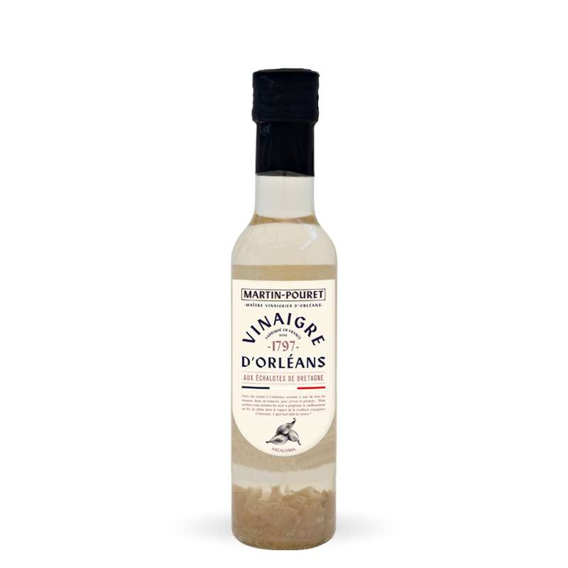 Vinaigre de vin à l'ancienne aux échalotes, Martin Pouret (50 cl)