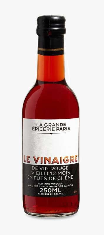 Vinaigre de vin rouge vieilli 12 mois, La Grande Epicerie de Paris (25 cl)