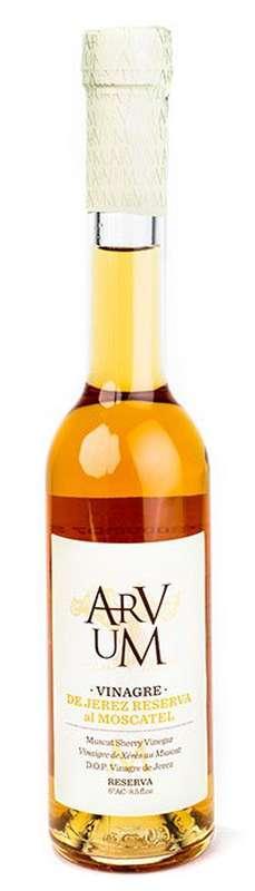 Vinaigre de Xérèz au Moscatel, Arvum (250 ml)