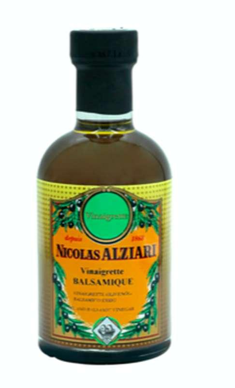 Vinaigrette huile et balsamique premium, Nicolas Alziari (200 ml)