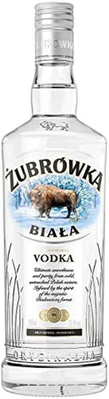Vodka Zubrowka Biala 37,5° (70 cl)