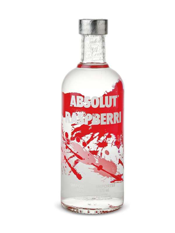 Vodka Absolut Raspberry - Framboise (70 cl)