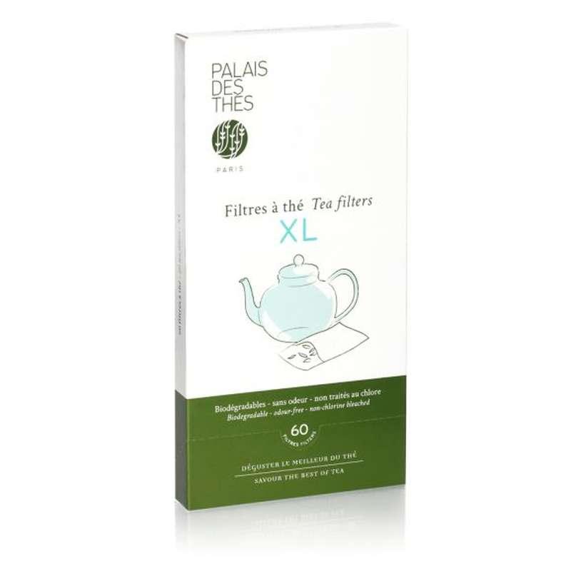 Filtres à thé XL, Palais des thés (x 60)