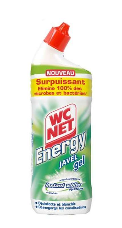 "Gel Javel ""Instant White System"", WC Net Energy (750 ml)"