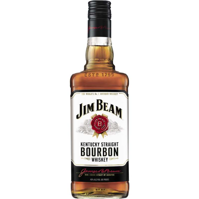 Whisky Bourbon Jim Beam, 40° (70 cl)