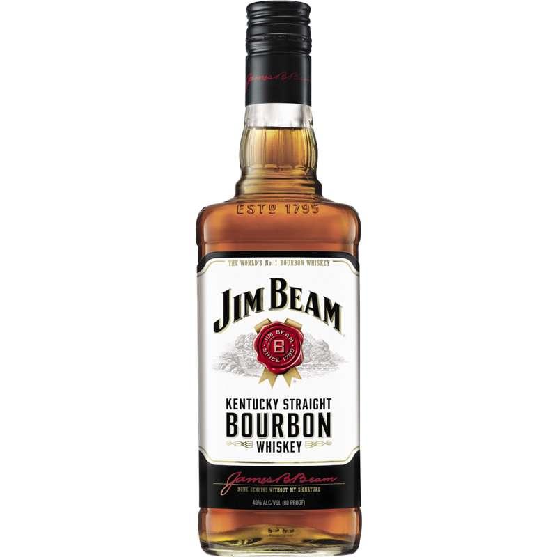 Whisky Bourbon Jim Beam, 40° (70 cl)