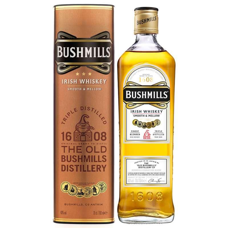 Whisky Irish Bushmills (70 cl)
