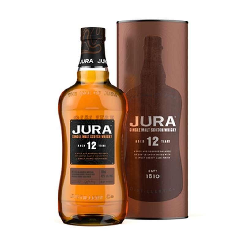 Whisky Jura 12 ans d'âge (70 cl)
