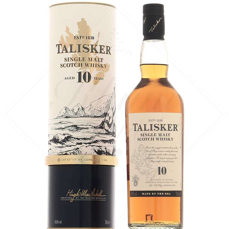 Whisky Talisker 10 ans d'âge 57° North (70 cl)