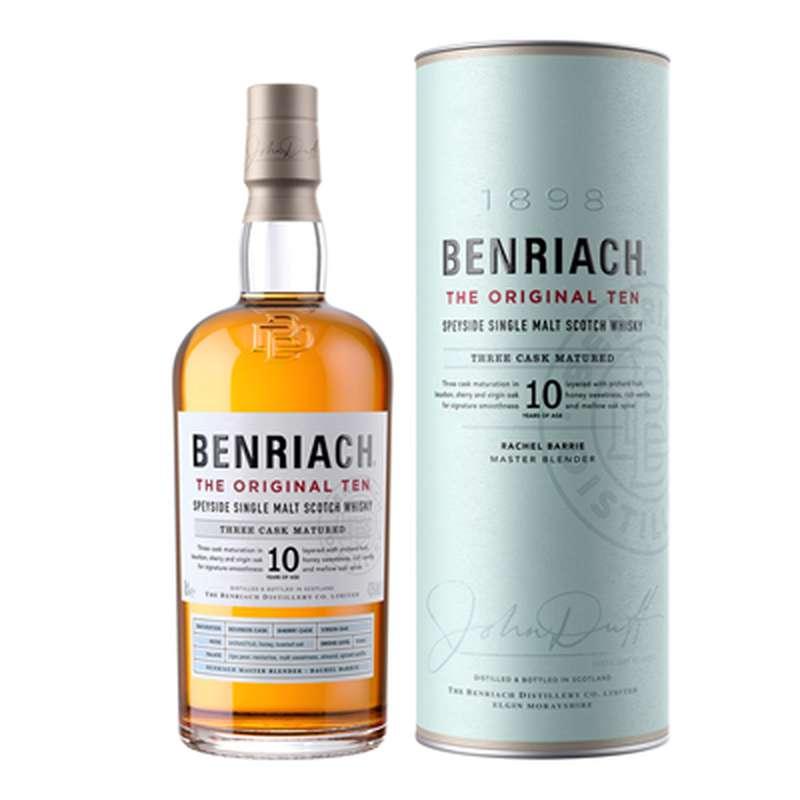 Whisky The Benriach 10 ans d'âge (70 cl)