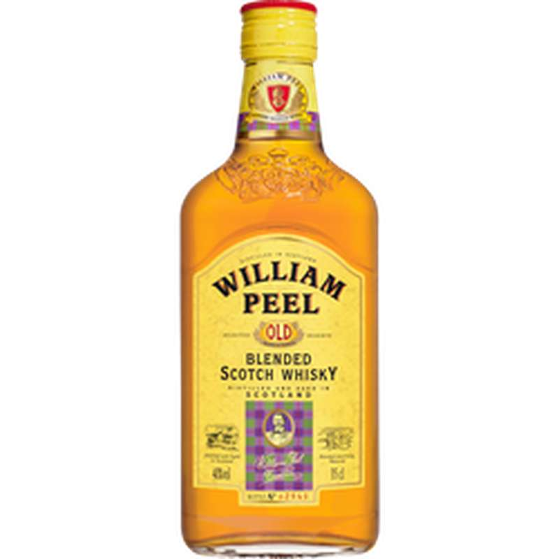Whisky William Peel 40° (35 cl)