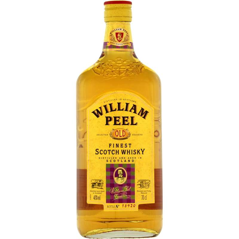 Whisky William Peel 40° (70 cl)