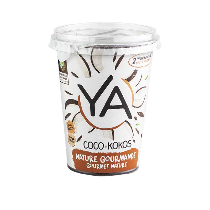 Ya coco nature gourmande BIO, Ya (400 g)