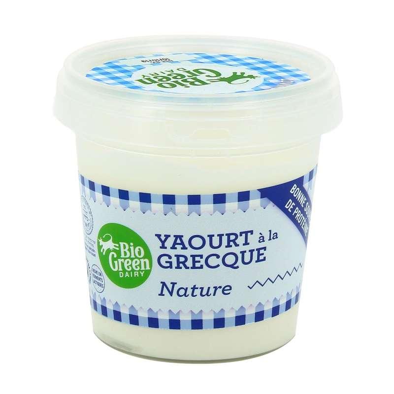 Yaourt nature à la Grecque, Bio Green Dairy (170 g)