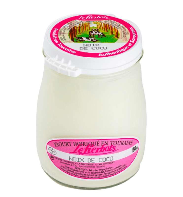 Yaourt à la noix de coco, Fierbois (180 g)