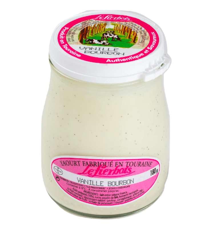 Yaourt à la vanille bourbon, Fierbois (180 g)