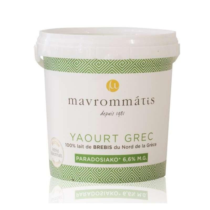 Yaourt Grec au lait de brebis, Mavrommatis (1 kg)