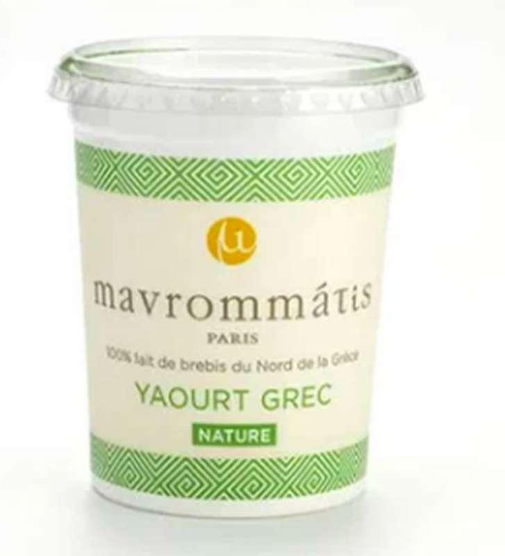 Yaourt Grec au lait de brebis, Mavrommatis (450 g)