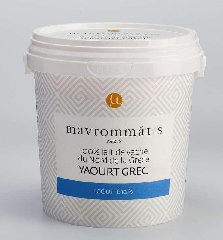 Yaourt Grec au lait de vache, Mavrommatis (500 g)