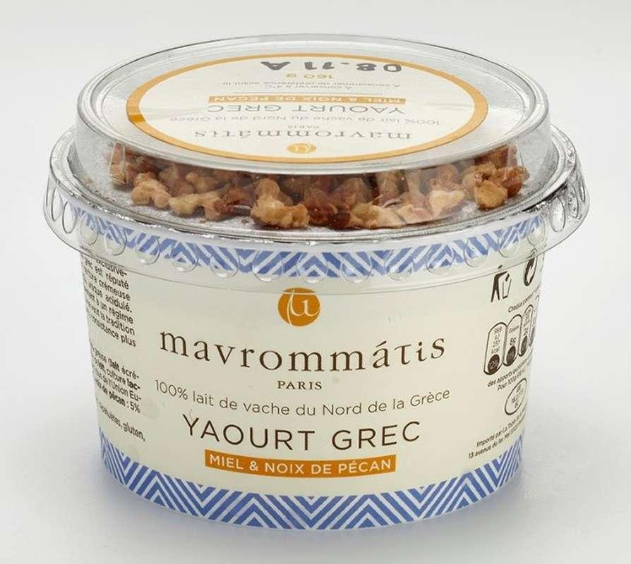 Yaourt Grec au miel et noix, Mavrommatis (160 g)