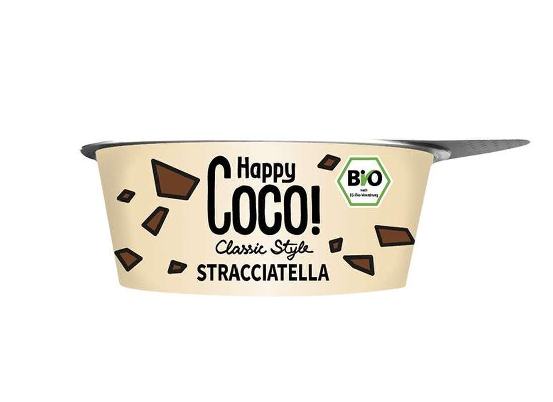 Brassé végétal coco straciatella BIO, Happy Coco (125 g)