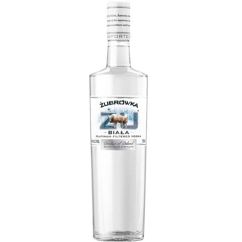 Vodka Zubrowka Biala 37,5° (70 cl)
