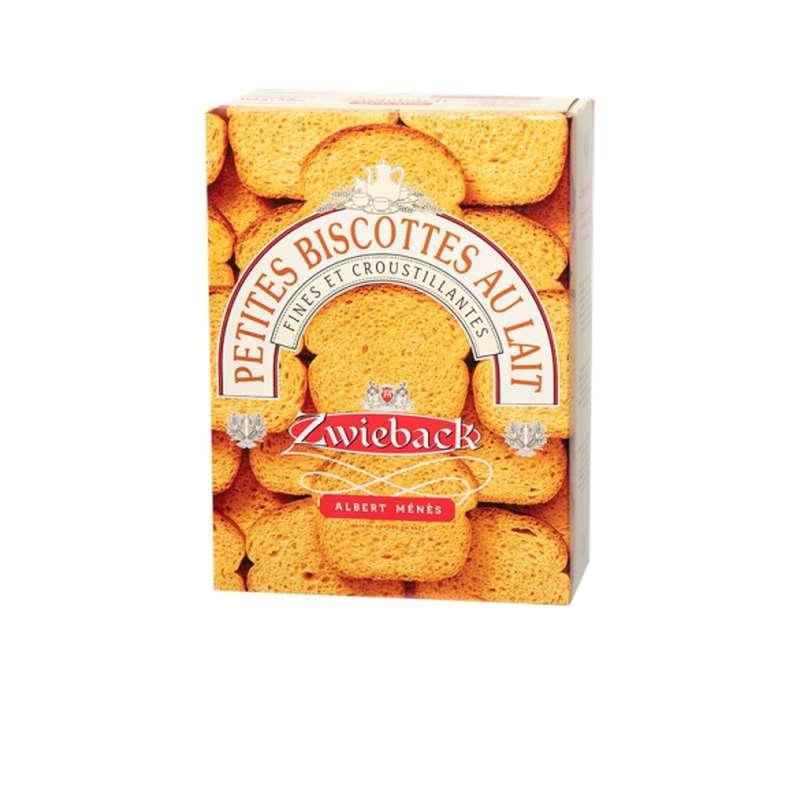 Zwieback - petites biscottes suisses au lait, Albert Ménès (165 g)