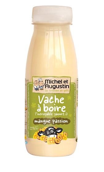 Vache à boire mangue passion, Michel et Augustin (500 ml)