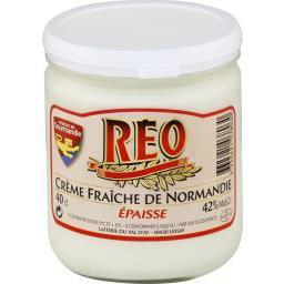 Crème fraîche épaisse de Normandie, Réo (40 cl)
