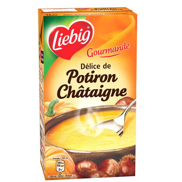 Soupe délice de potiron châtaigne, Liebig (1 L)