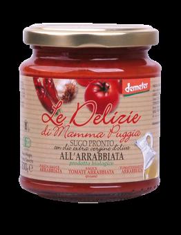 Sauce tomate Arrabbiata, Le Delizie di Mamma  (300 g)