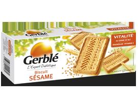 Biscuits au sésame, Gerblé (230 g)