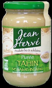Purée de sésame blanc ou tahin BIO, Jean Hervé (350 g)