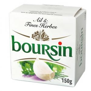 Boursin Ail & Fines Herbes (150 g)