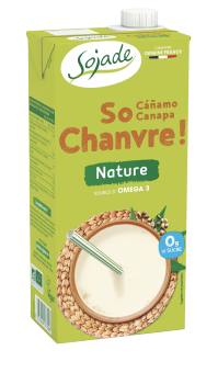 Boisson au chanvre nature So Chanvre, Sojade (1 L)