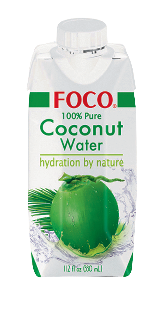 Jus de noix de coco, Foco (33 cl)