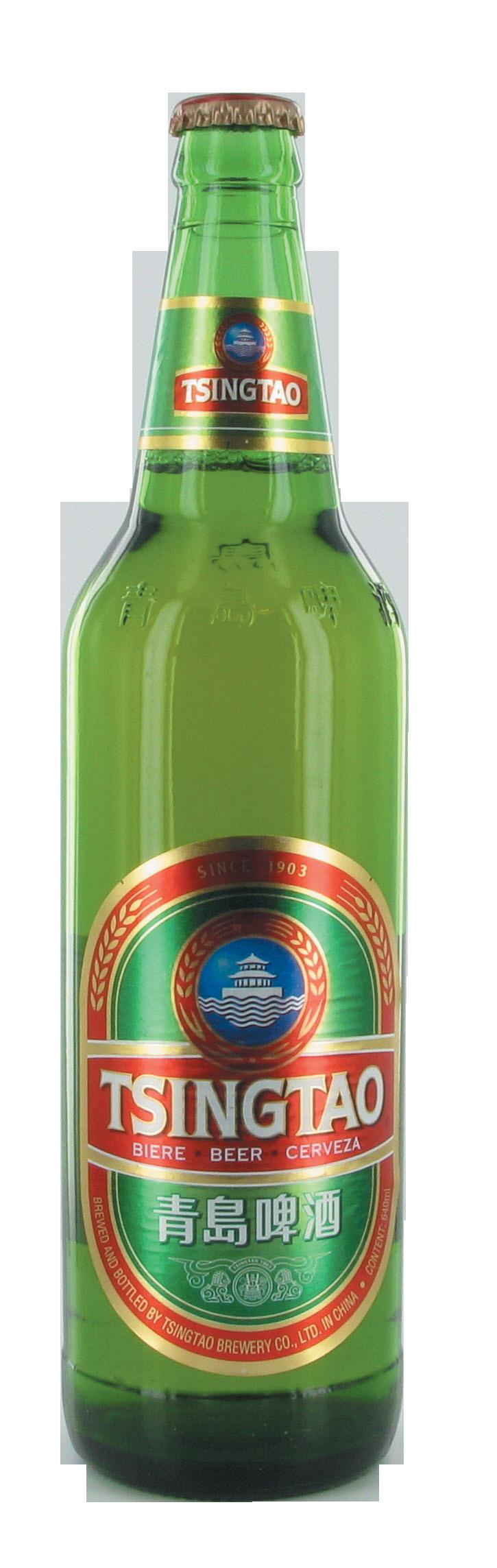 Bière Tsingtao (640 ml)