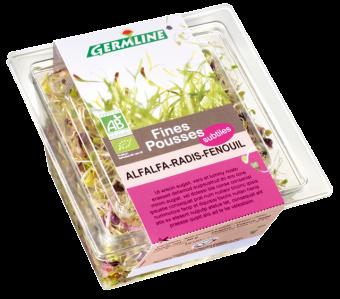 Alfalfa/radis/fenouil BIO, Germline (60 g)