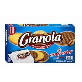 Granola pocket chocolat au lait, Lu (225 g)