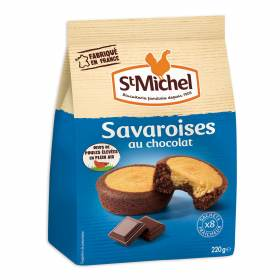 Savaroises au chocolat, St Michel (220 g)