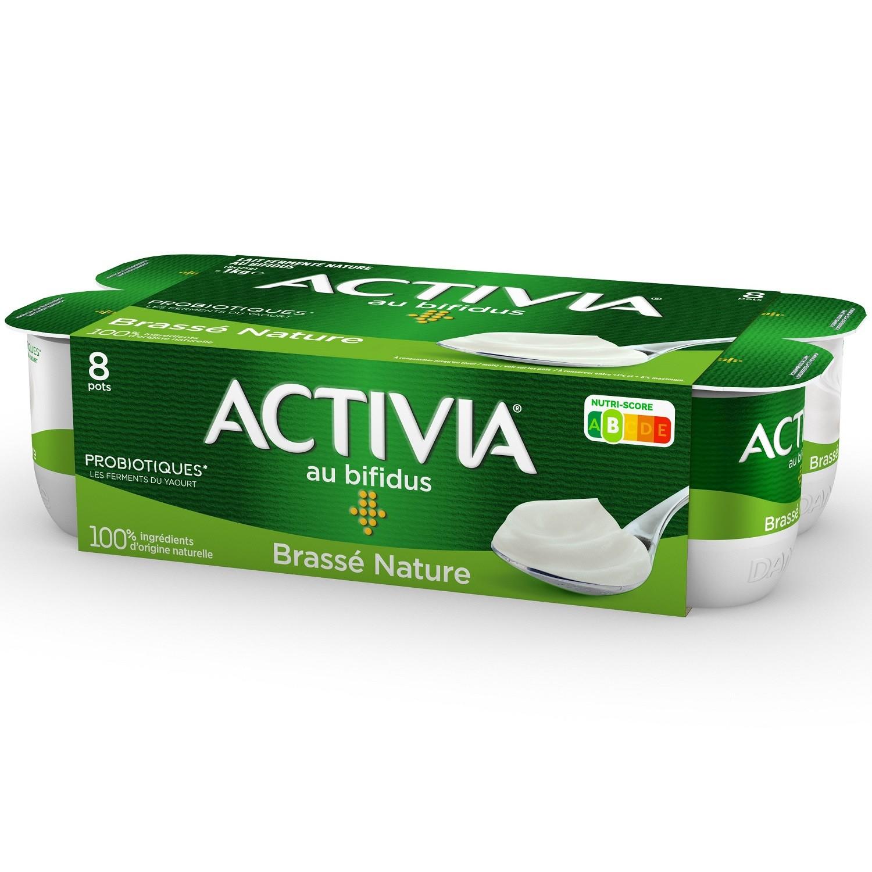 Yaourt brassé nature Activia (8 x 125 g)
