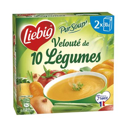 Velouté de 10 légumes PurSoup', Liebig (2 x 30 cl)
