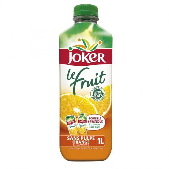 Jus d'orange sans pulpe, Joker (1 L)