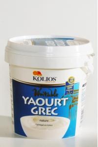 Yaourt grec grand format, Kolios (1 kg)