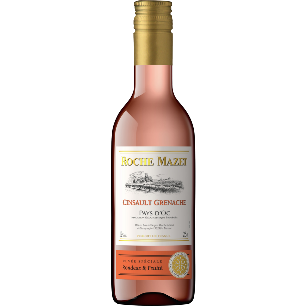 Cinsault Grenache Rosé Roche Mazet 2019 (25 cl)