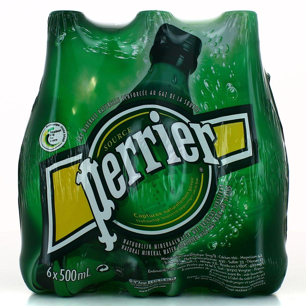 Pack de Perrier (6 x 50 cl)