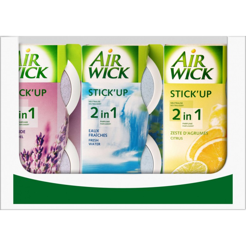 Stick Up Parfums Assortis, Air Wick
