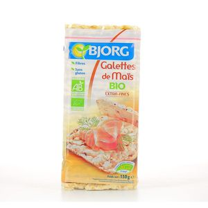 Galette de maïs BIO, Bjorg (130 g)