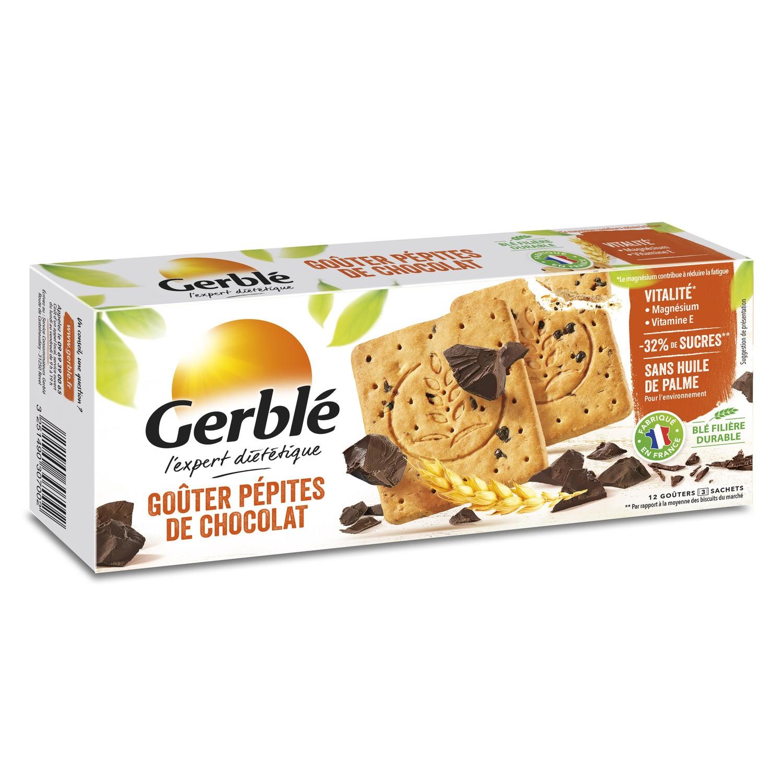 Biscuits pépites chocolat, Gerblé (250 g)