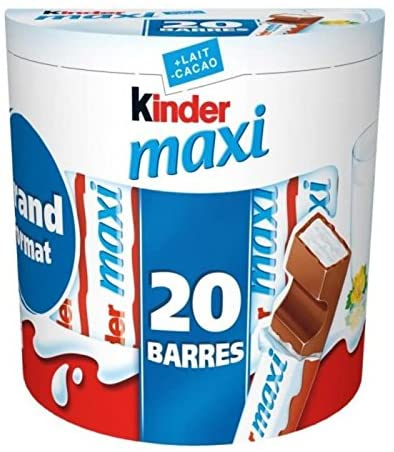 Kinder Maxi (20 barres, 420 g)